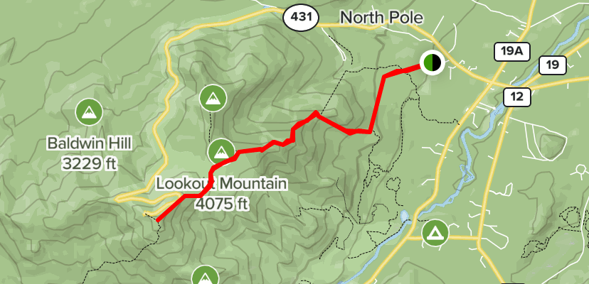 The first mile of the trail ascends gently, the. Whiteface Mountain Summit Trail New York Alltrails