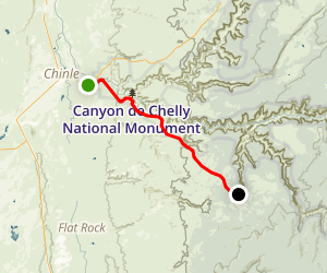 Canyon de Chelly National Monument  Arizona  AllTrails
