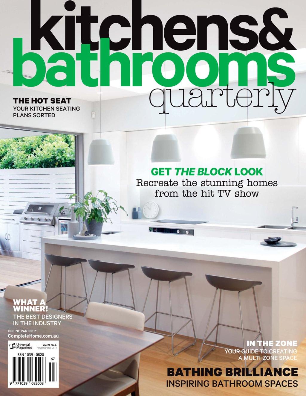 kitchen magazines cabinets pensacola kitchens bathrooms quarterly subscription