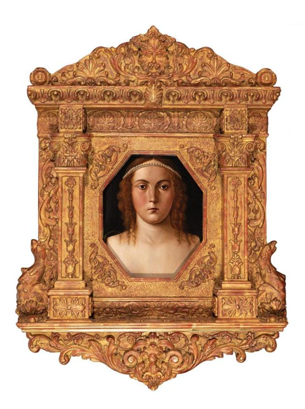 Portrait of a Young Woman, attributed to Giovanni Bellini