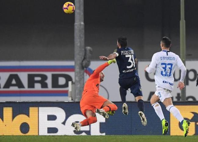 Image result for chievo vs inter photos