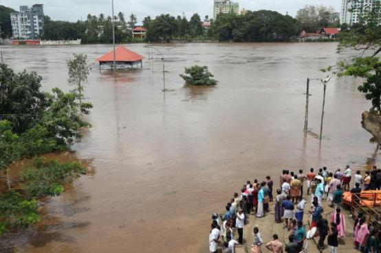 Image result for Rains, landslides kill 24, displace thousands in India's Kerala state