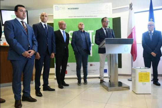 From left: Four cabinet members - Aaron Farrugia, Chris Fearne, Deo Debattista, Jose Herrera - made it to the event. Photo: Matthew Mirabelli