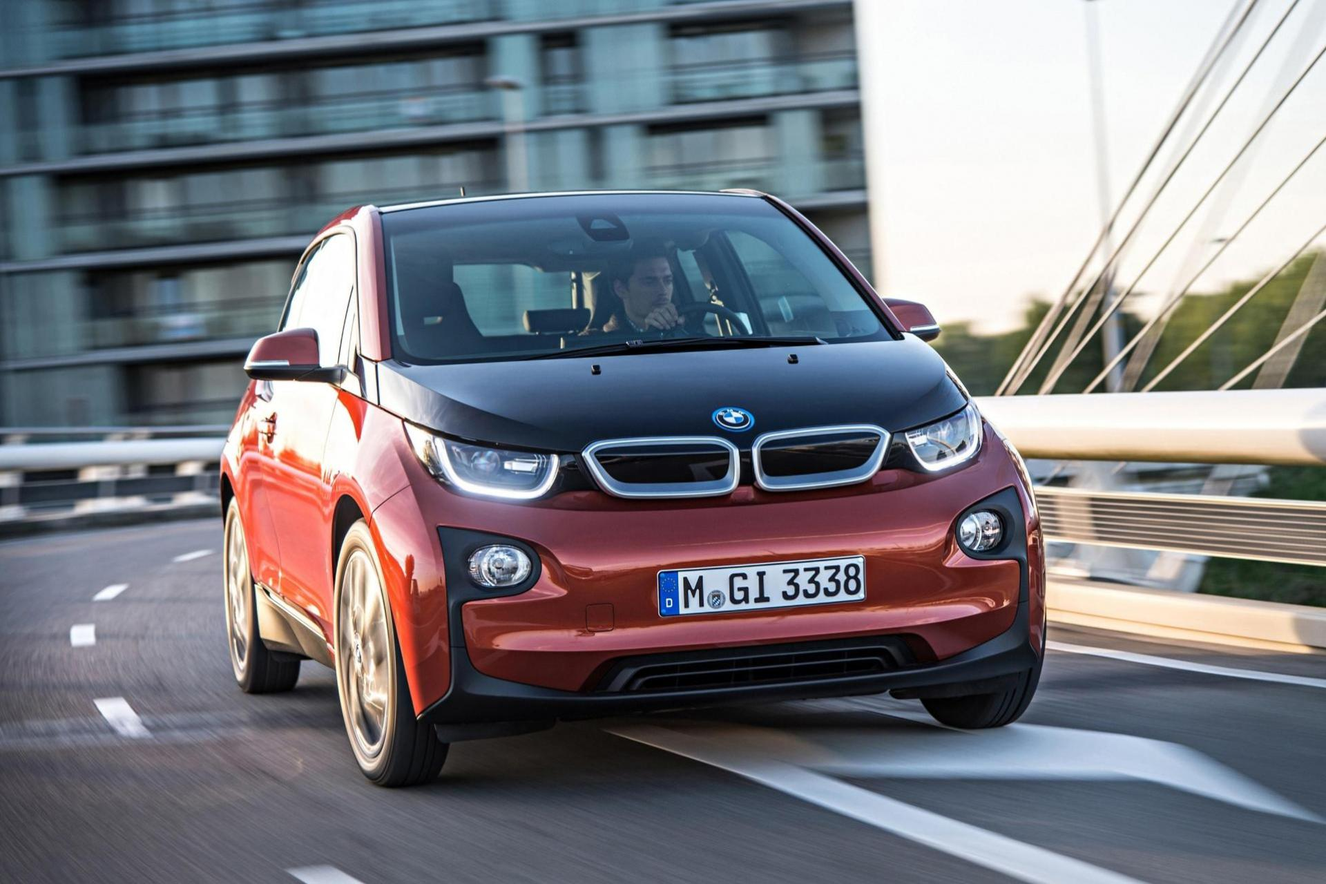 The i3 pioneered the use of recycled interior materials.