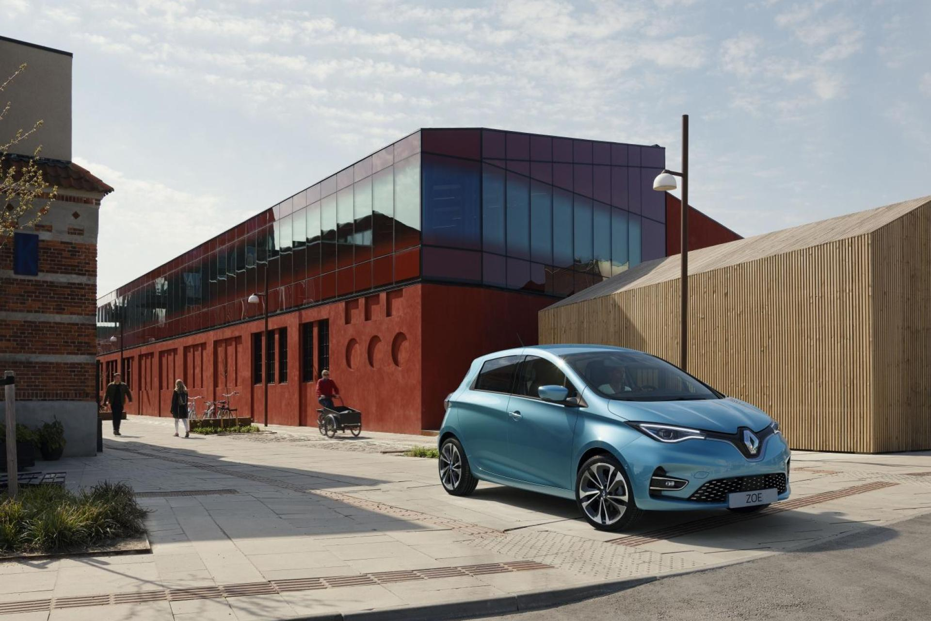 The Zoe uses a variety of recycled materials in its interior.