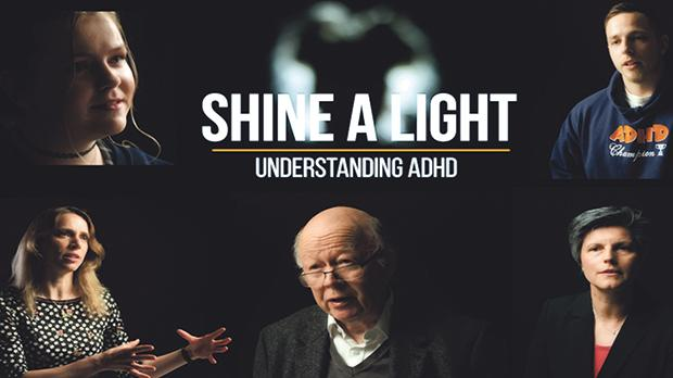 Some of the protagonists of the new short film Shine a light Understanding ADHD, which was launched on October 31.