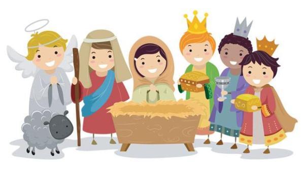 children place in nativity