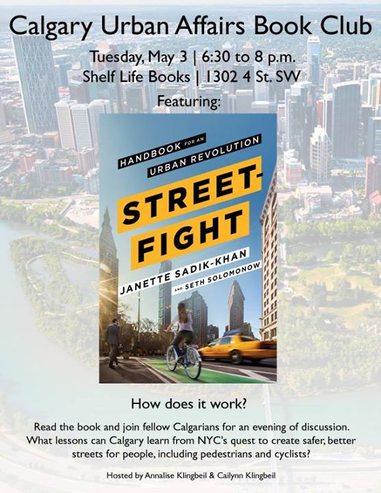 Calgary Urban Affairs Book Club Street Fight At Shelf