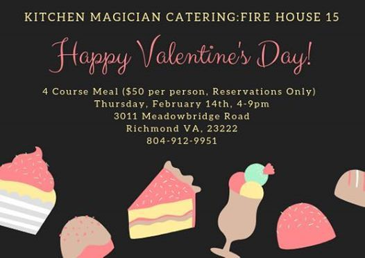 kitchen magician moen anabelle faucet catering fire house 15 valentines day 4 course at