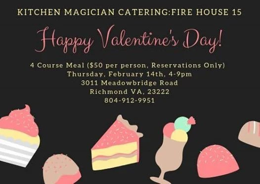 kitchen magician barn sinks for catering fire house 15 valentines day 4 course at