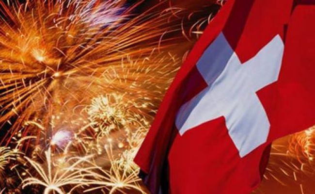 1 August Bundesfeiertag 1st Of August Swiss National