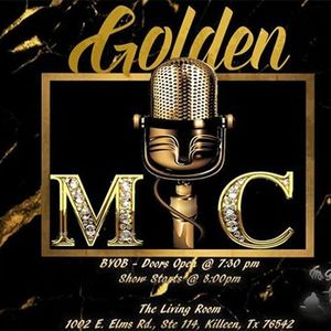 golden mic at the