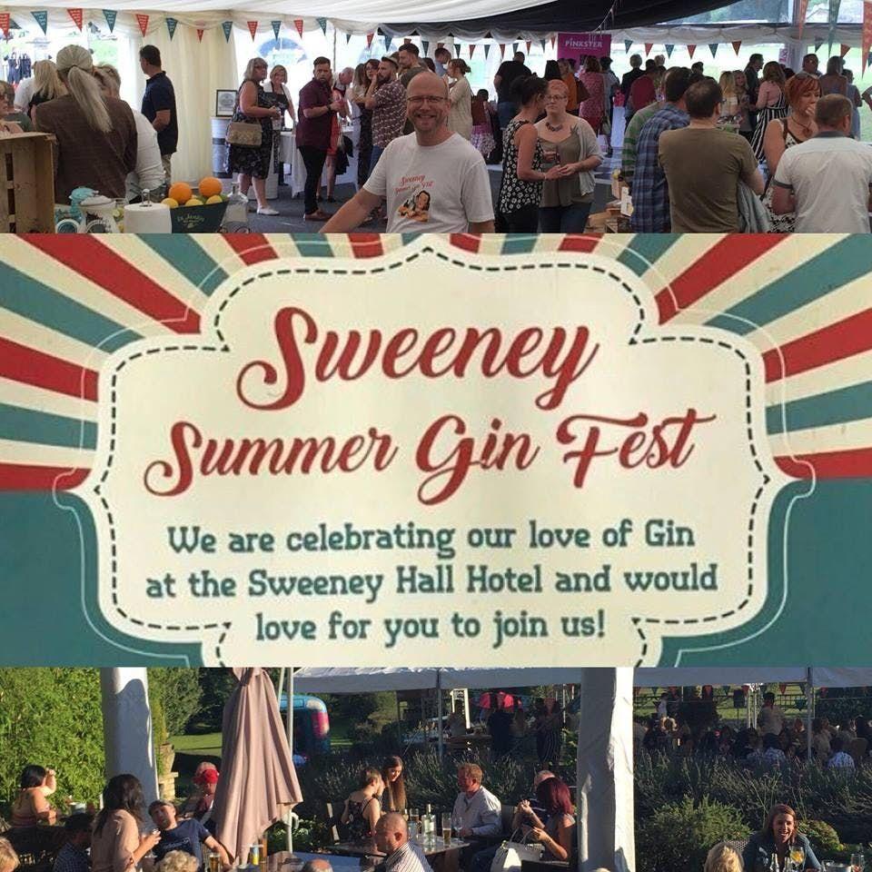 Sweeney Summer Gin Fest At Sweeney Hall Morda