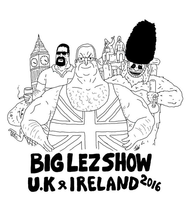 The Big Lez Show Dublin at The Generator Hostel, Dublin