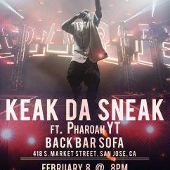 Back Bar Sofa San Jose Ca Pottery Barn Leather Sectional Keak Da Sneak Feat Pharoah Yt At