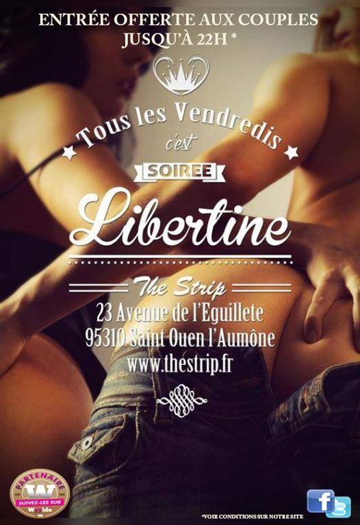 Les Soires Libertines du vendredi at The strip CergyPontoise