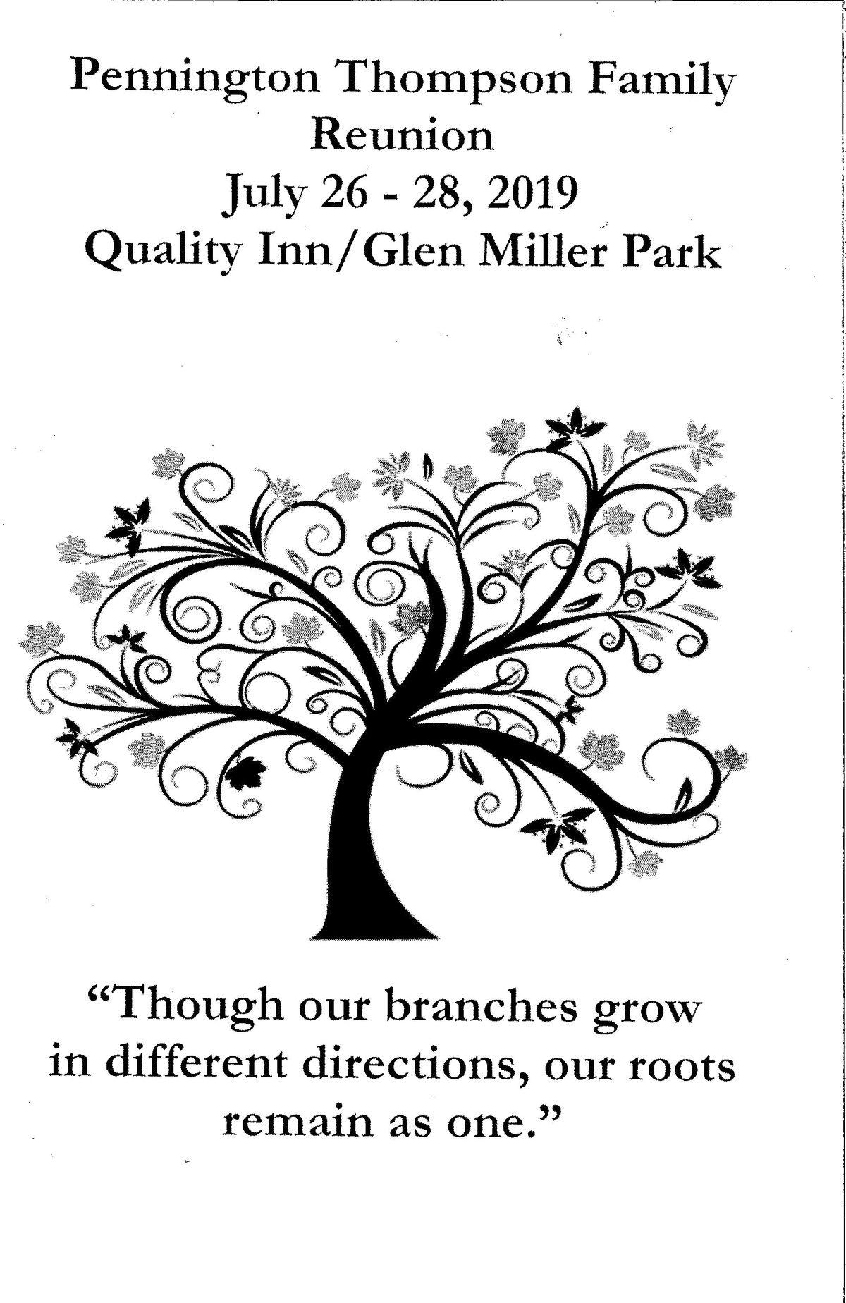 Pennington-Thompson Family Reunion at Quality Inn and