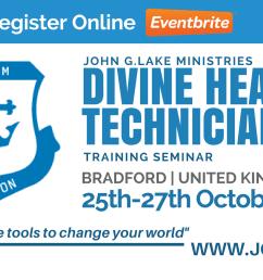 bradford john g lake ministries divine healing technician training seminar [ 1920 x 1080 Pixel ]