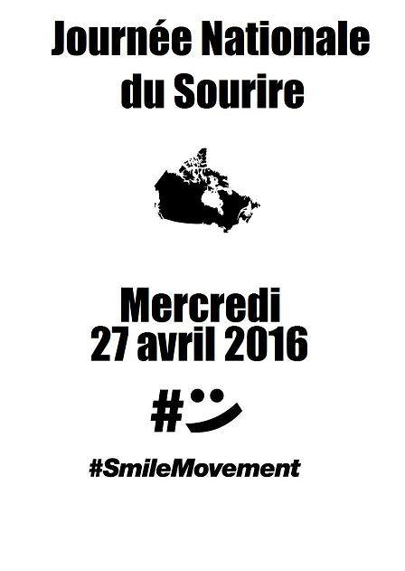 Journée Nationale du Sourire RECORD MONDIAL #SmileMovement