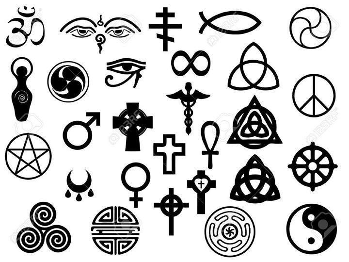spiritual symbols talisman sigils