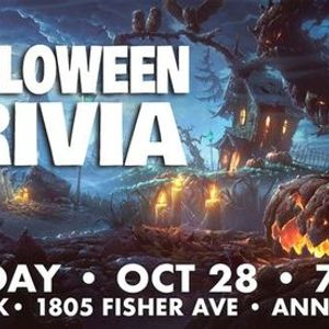 Halloween is a super thrilling night of the year and will be upon us before you know it. Halloween Trivia Snitz Creek Annville, Snitz Creek Brewery Annville, October 28 2021   AllEvents.in