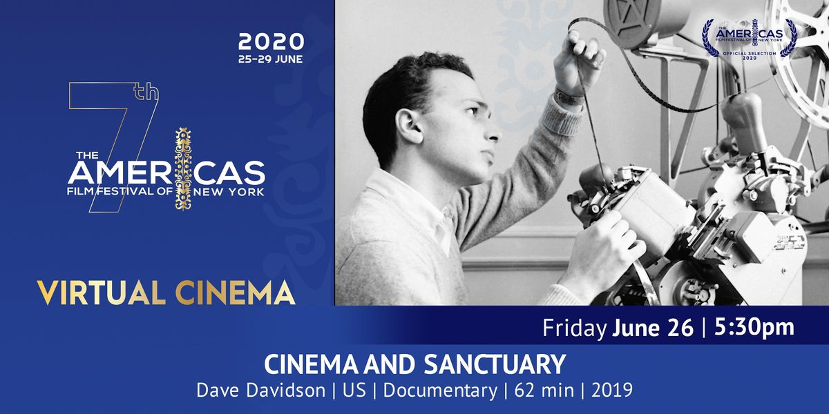 TAFFNY Virtual Cinema - CINEMA AND SANCTUARY on AllEvents.in   Online Events