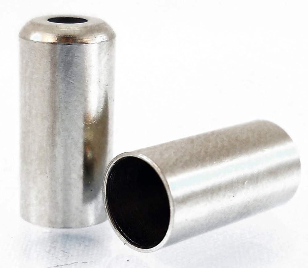 medium resolution of  alligator cable end cap brass turned 5mm