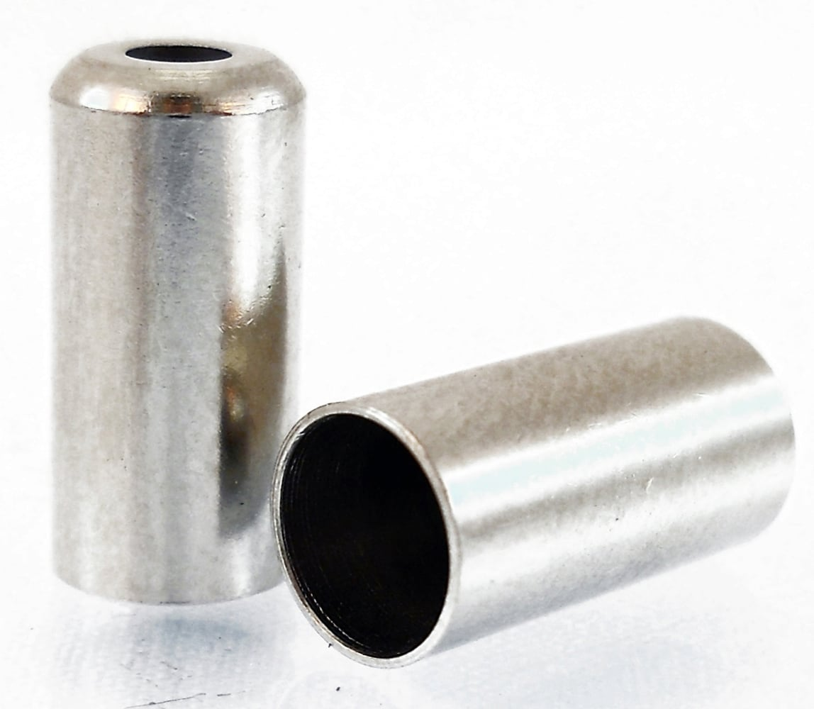 hight resolution of  alligator cable end cap brass turned 5mm