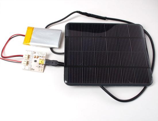 Make A Solar MintyBoost, A Solar Power Charger