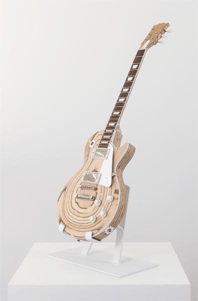plywood guitar sculpture adafruit