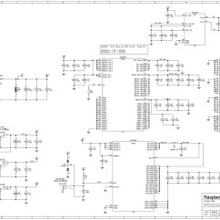 Raspberry Pi 2 Wiring Diagram Bmw E46 Amplifier Model B Revision Schematics Raspberrypi