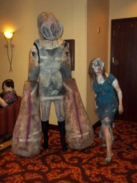Silent Hill 3s Closer Monster Costume  Adafruit ...