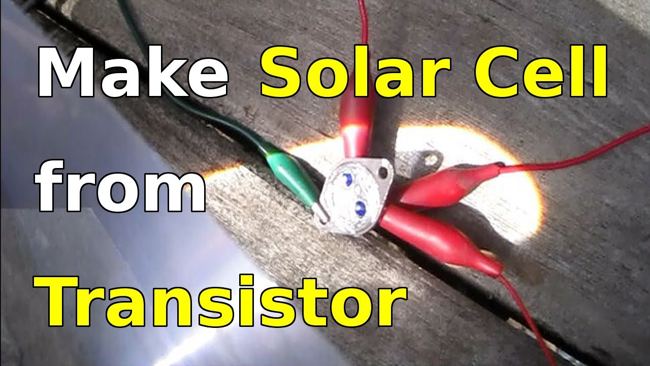 12v Circuit Breaker Wiring Diagram Free Picture How To Make A Solar Cell Using A Power Transistor