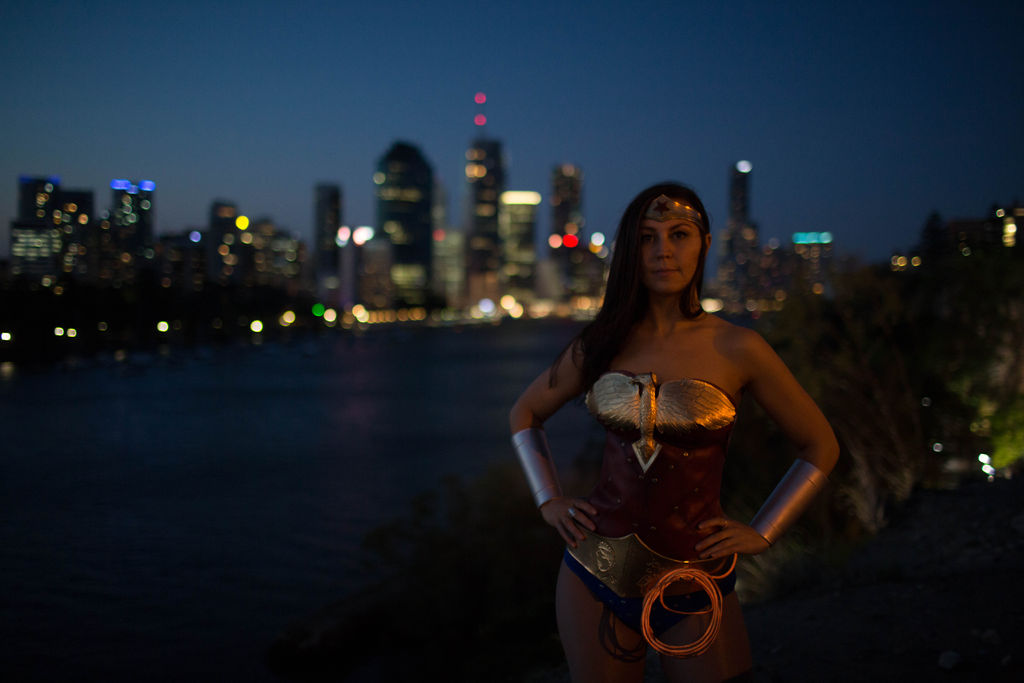Wonder Womans Lasso of Truth Made with EL Wire  Adafruit Industries  Makers hackers artists