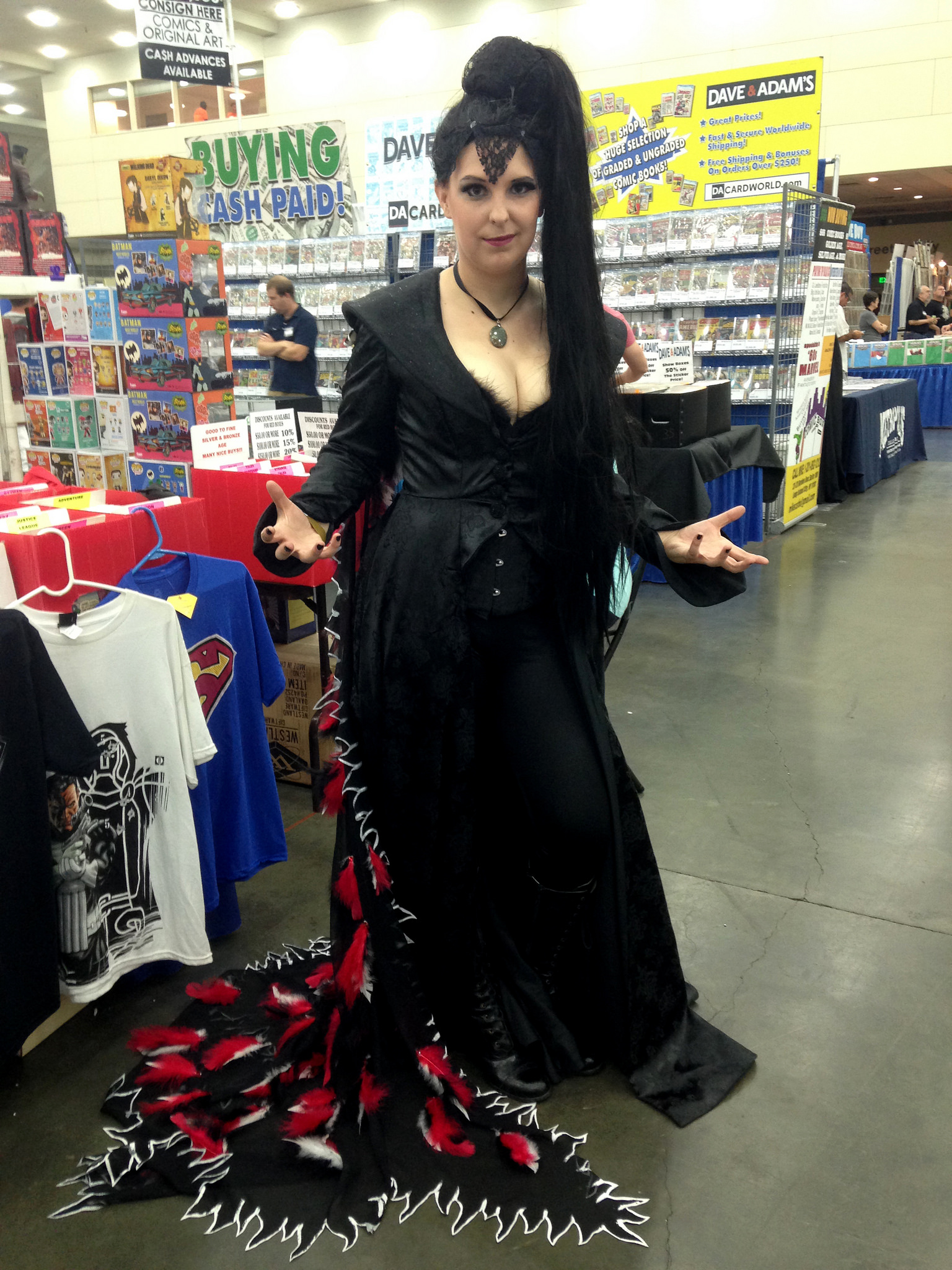 Once Upon a Time's Evil Queen Costume « Adafruit Industries – Makers, hackers, artists, designers and engineers!