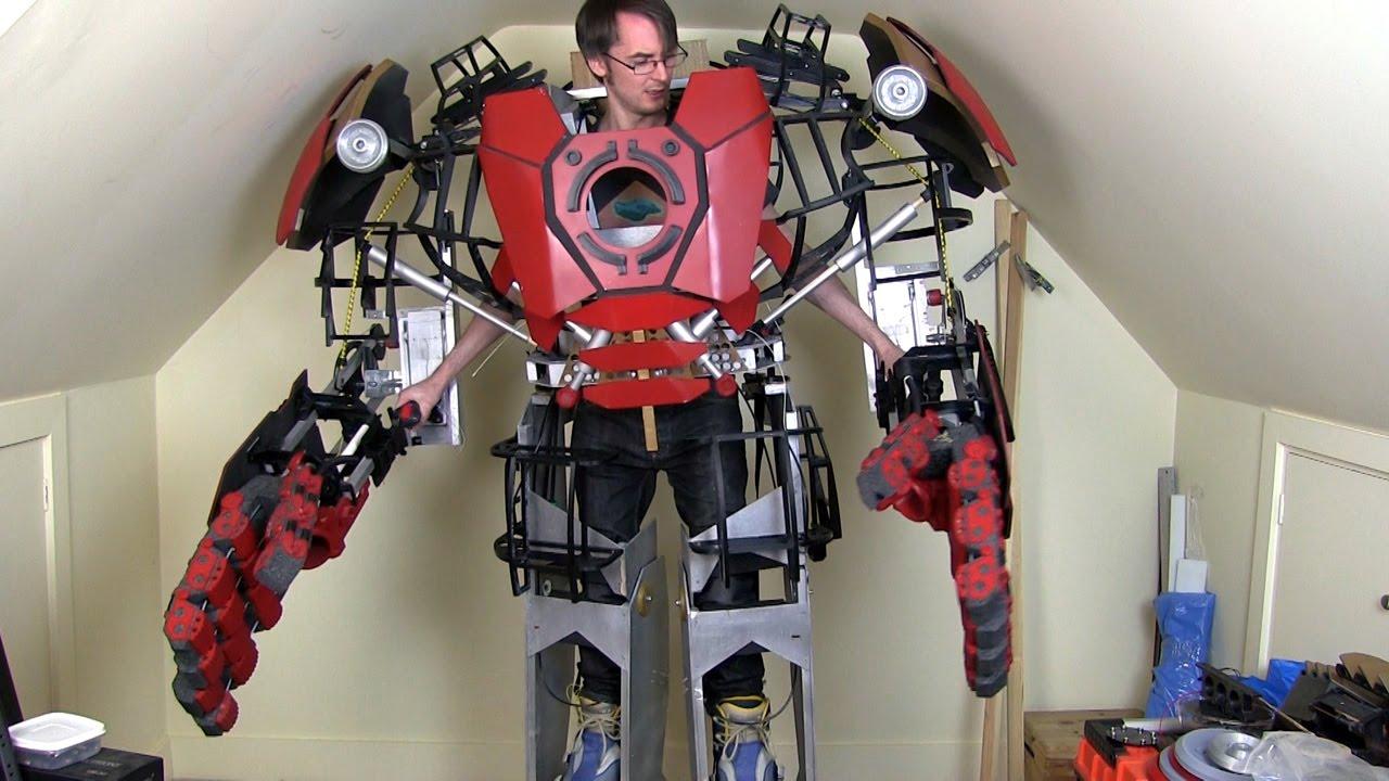 4 Wire Arduino Diagram Iron Man Hulkbuster Cosplay Leg Opening Mechanism