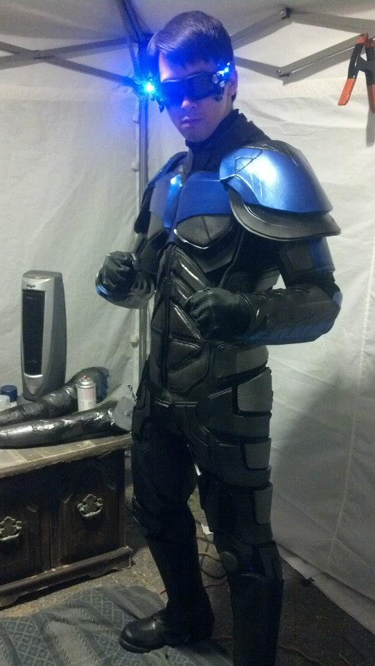 Armored Nightwing Costume 171 Adafruit Industries Makers