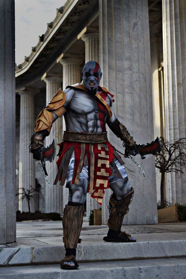 God of War Kratos Cosplay in a Perfect Setting  Adafruit Industries  Makers hackers artists