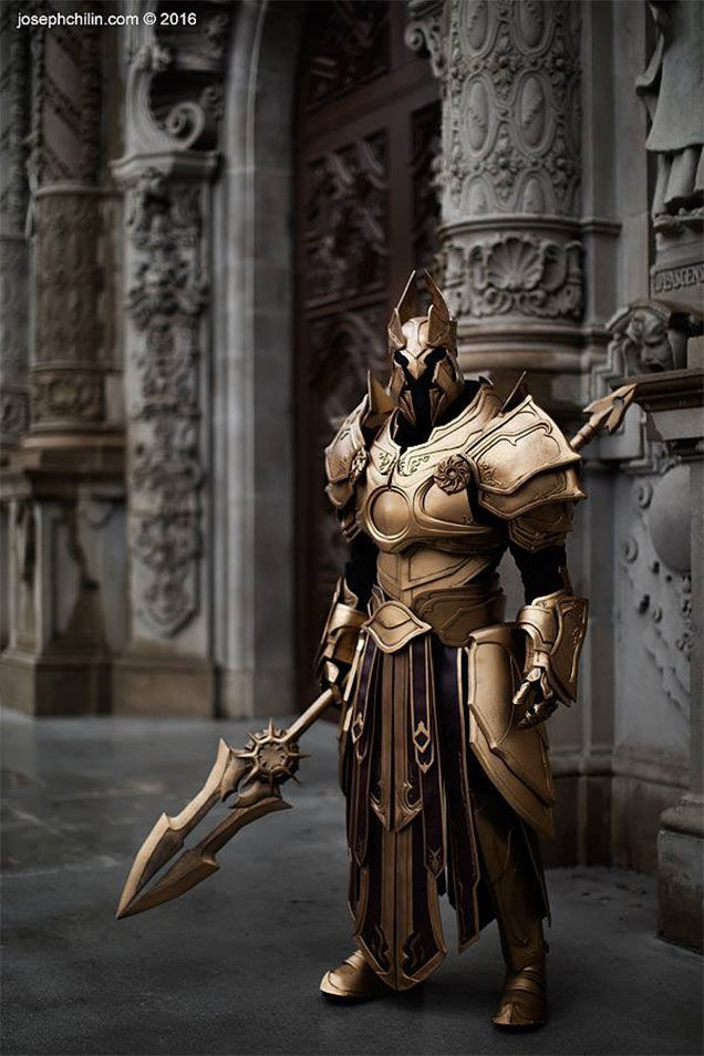 Raspberry Pi Wallpaper Hd Fierce Diablo Iii Imperius Cosplay 171 Adafruit Industries