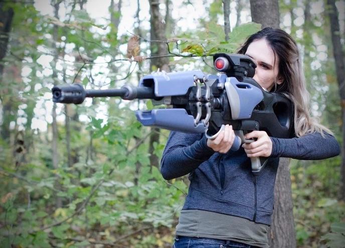 Widow Makers Widows Kiss From Overwatch 3DPrinting 3DThursday Adafruit Industries Makers