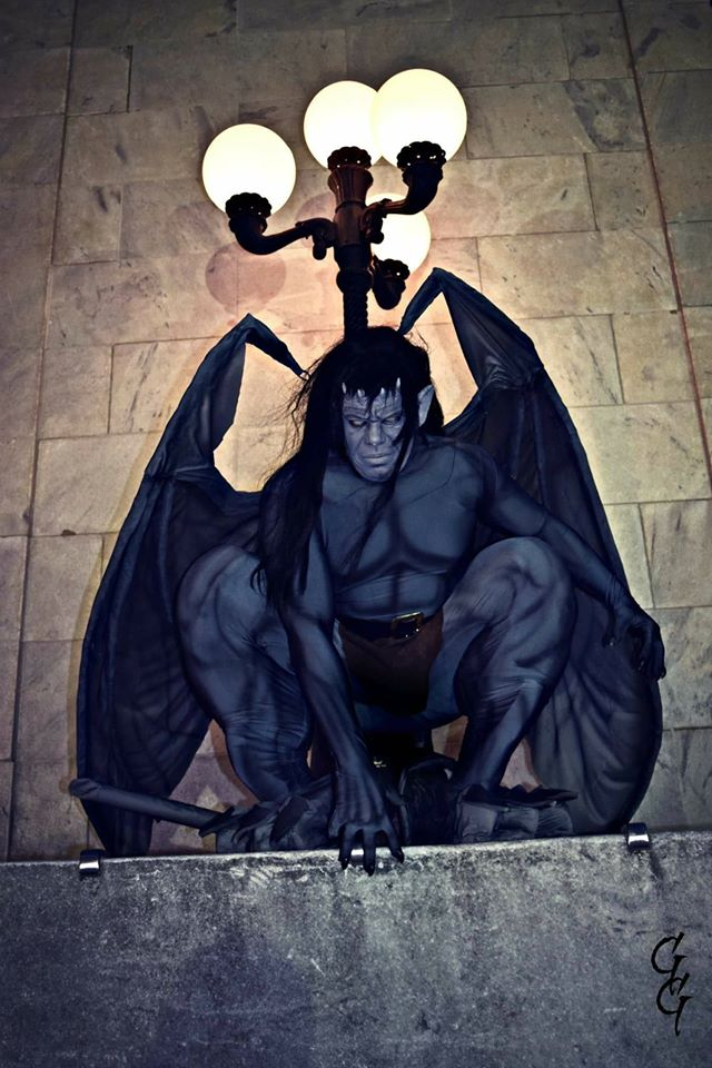 Gargoyles Goliath 3 Day Costume Build  Adafruit Industries  Makers hackers artists