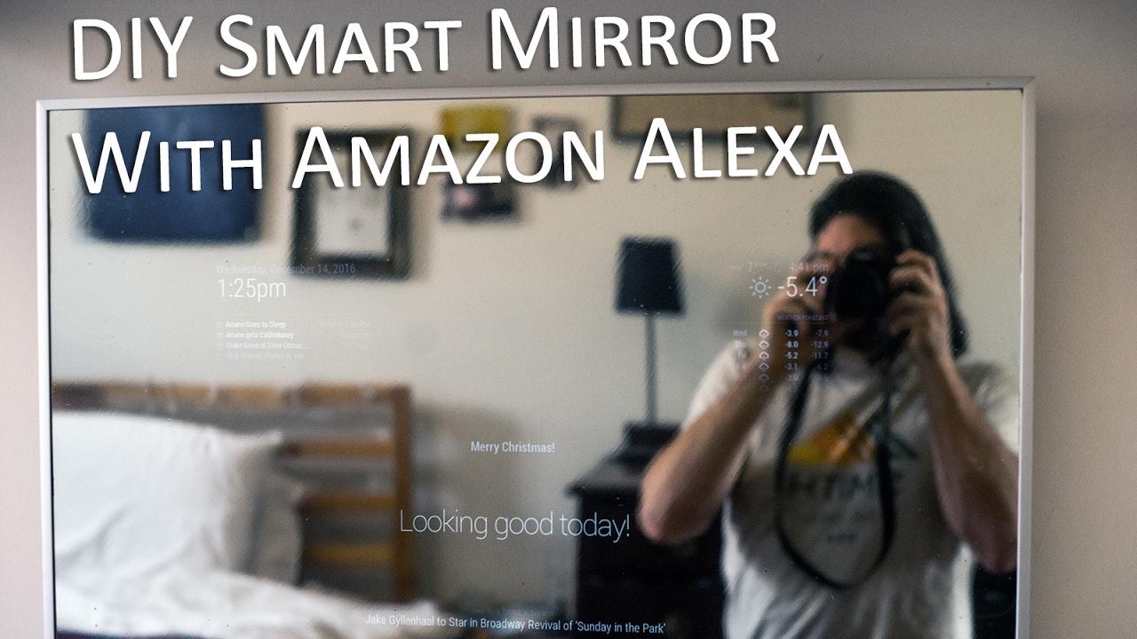 Raspberry Pi Based Smart Mirror piday raspberrypi
