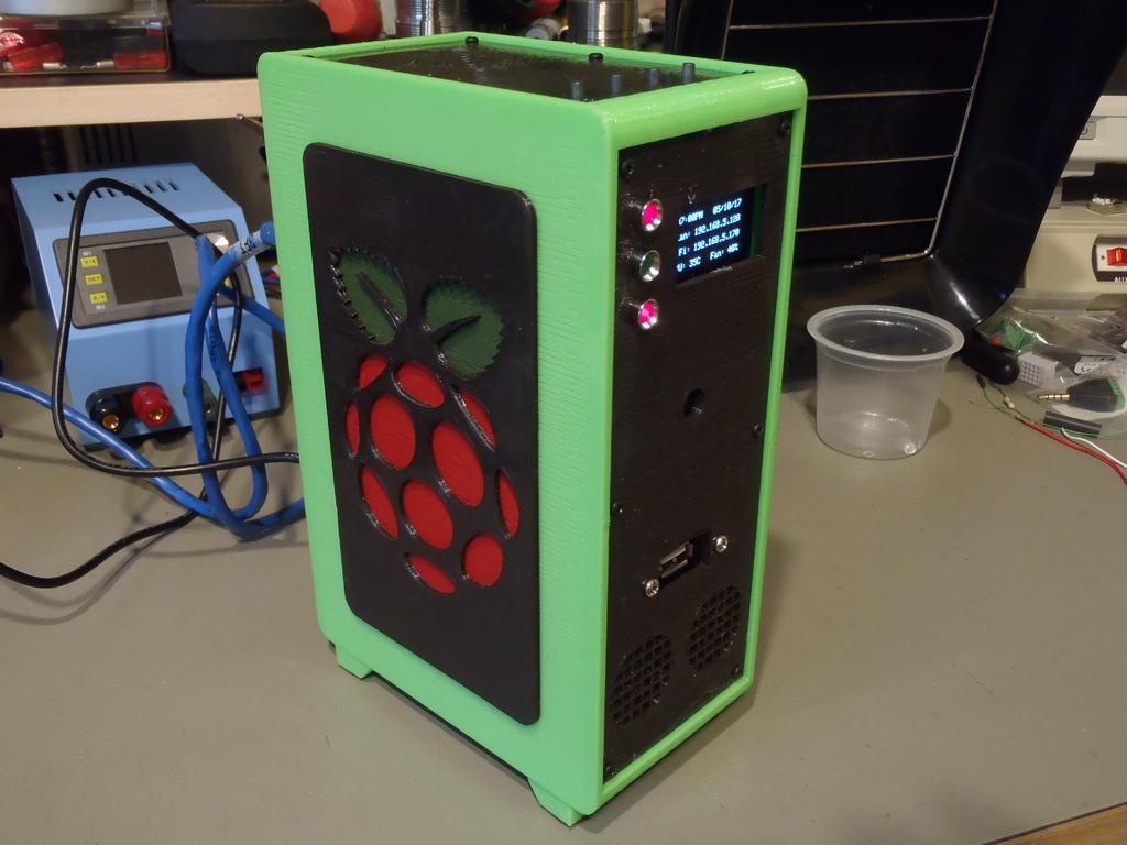 Raspberry Pi Desktop Tower Case 3DThursday 3DPrinting