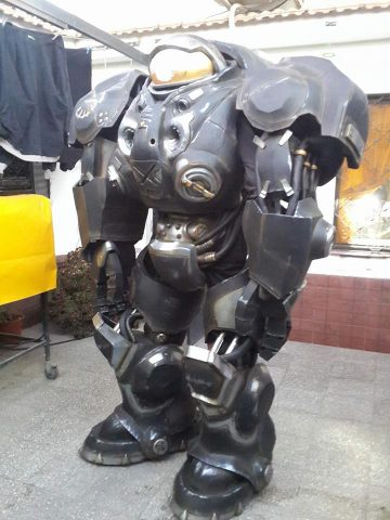 StarCraft Raynor Suit Made from EVA Foam  Adafruit Industries  Makers hackers artists