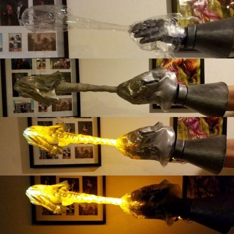 doctor doom glowing energy