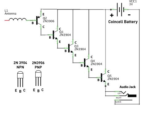 EMF Amplifier Circuit #WearableWednesday « Adafruit