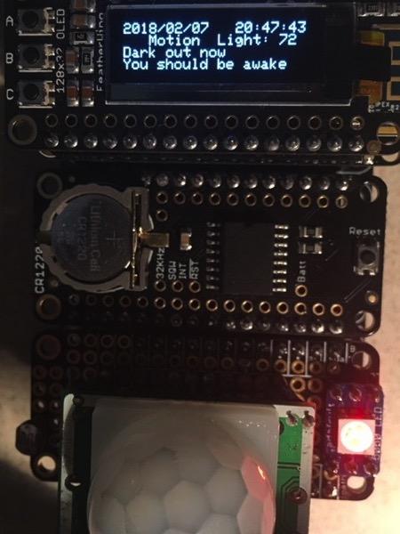 Sensors finished