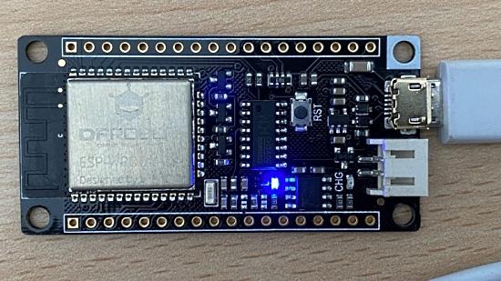 Using MicroPython on FireBeetle ESP32