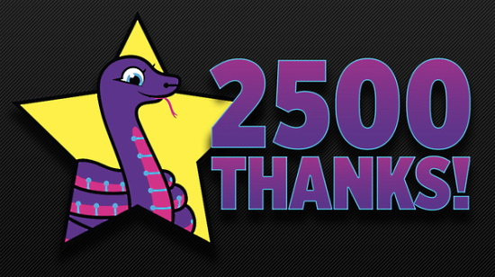 CircuitPython GitHub Repo Exceeds 2,500 Stargazers