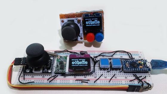 Consola de juegos inalámbrica con Arduino